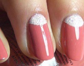 4 способа сделать на ногтях лунный маникюр