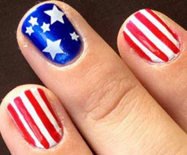флаг на всех пальцах