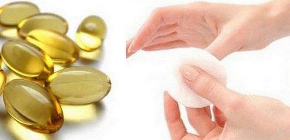 втирать витамины в кожу рук