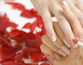 Лечение ногтей японским маникюром