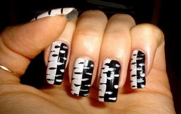 дизайн черный с белым
