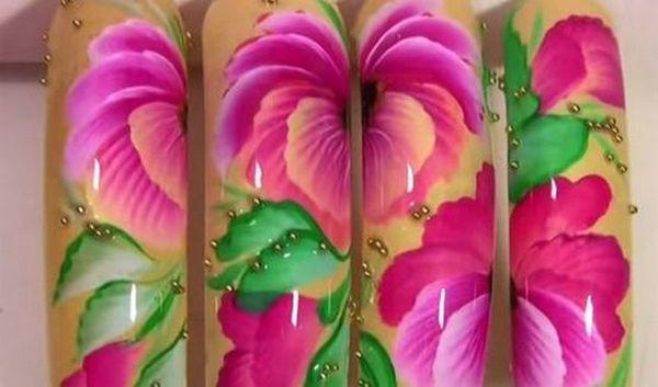 дизайн цветов