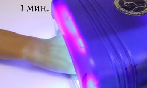 сушка в лампе