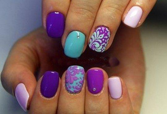 Рябина - Дизайн ногтей, Рисунки на ногтях, Nail-Art