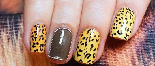 леопардовый дизайн