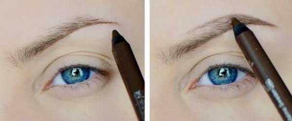 дорисовать волоски карандашом