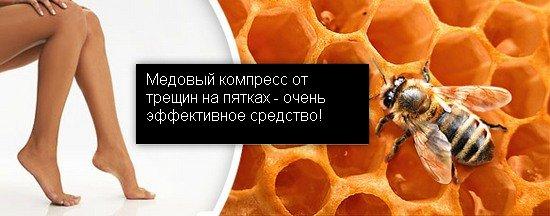 компресс с медом рецепт
