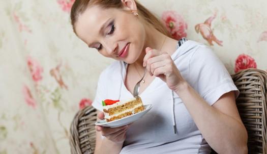 много кушать сладкого