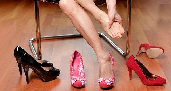 фото туфлей с высоким каблуком