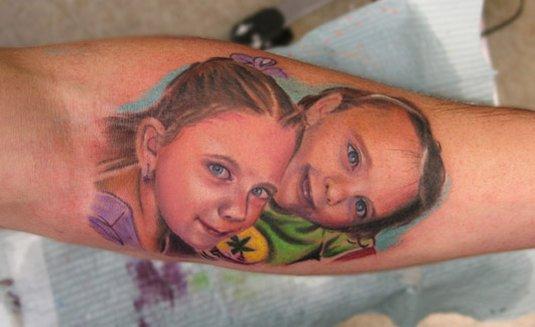 портреты малышей
