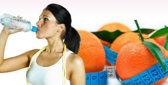 как похудеть с мандаринами