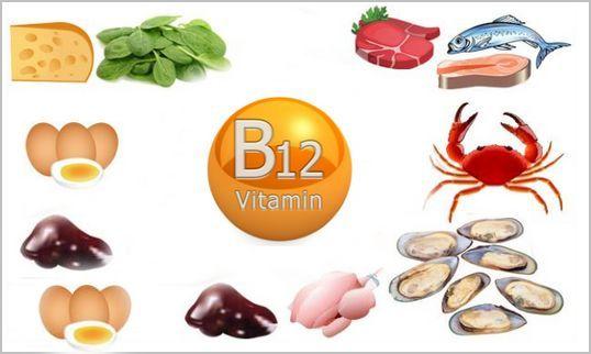 в каких продуктах витамин