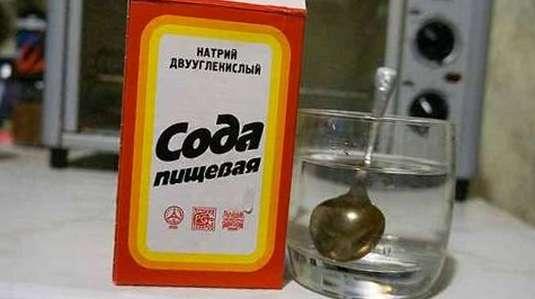 сода для лечения
