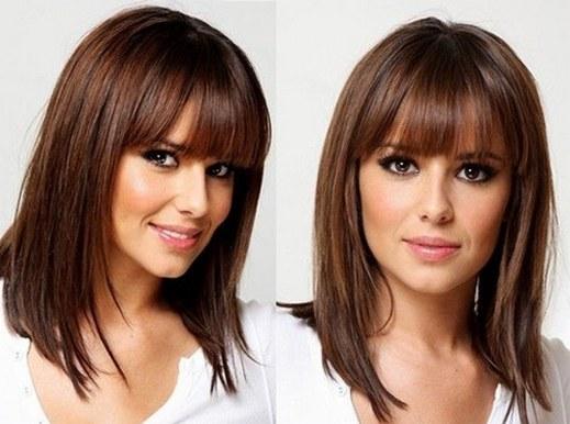 Стрижка рапсодия на средние волосы сзади