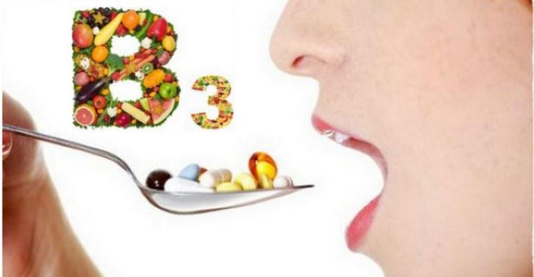 Роль витамина В3 в организме человека. Где содержится