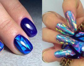 Идеи дизайна ногтей с геометрическими рисунками и фигурами